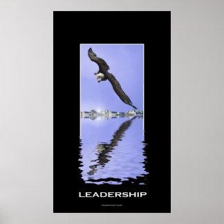 American Bald Eagle LEADERSHIP Motivational Print