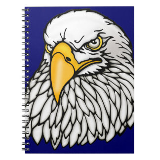 American bald eagle notebook