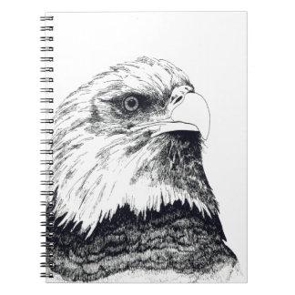 American Bald Eagle Note Book