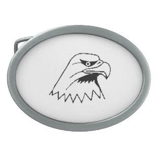 American Bald Eagle Oval Belt Buckles