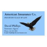 American Bald Eagle Patriotic Business Cards
