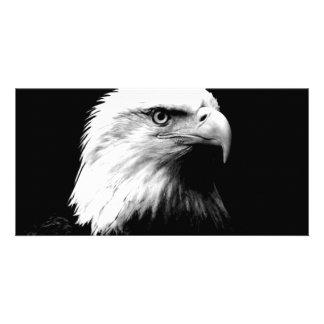 American Bald Eagle Personalized Photo Card