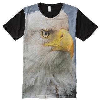 American Bald Eagle Portrait All-Over Print T-shirt