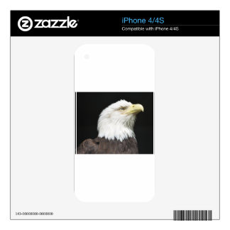 American Bald Eagle Profile Decals For The iPhone 4