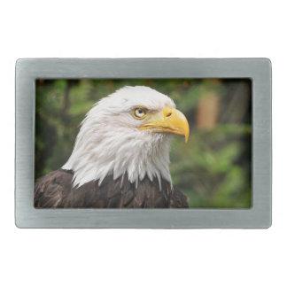 American Bald Eagle Rectangular Belt Buckle