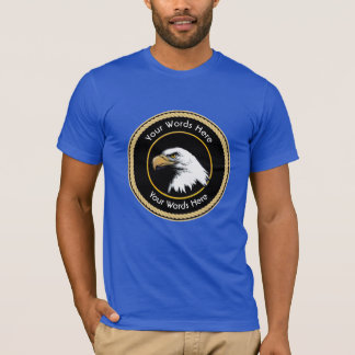 American Bald Eagle Rope Shield T-Shirt