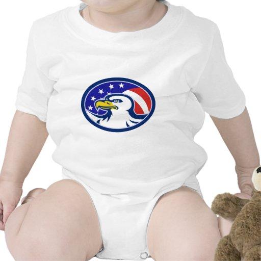 American Bald Eagle Stars Stripes Flag Shirts