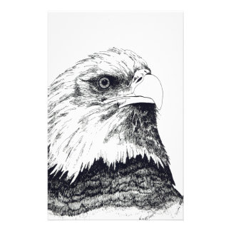 American Bald Eagle Stationery