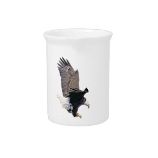 American Bald Eagle Symbol Of The United States Pitcher