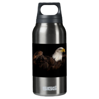 American Bald Eagle Thermos Water Bottle