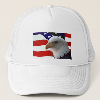 American Bald Eagle Trucker Hat