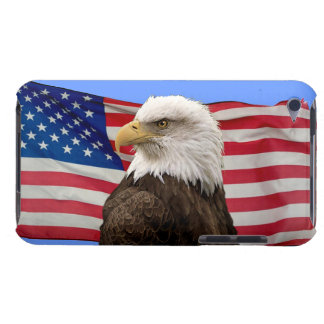 American Bald Eagle & US Flag Patriotic Phone Case iPod Touch Cases