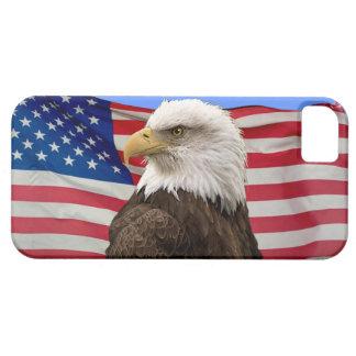 American Bald Eagle & US Flag Patriotic Phone Case