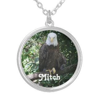 American Bald Eagle Wildlife Photo Pendant