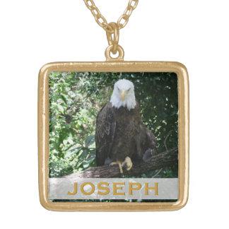 American Bald Eagle Wildlife Photo Necklaces