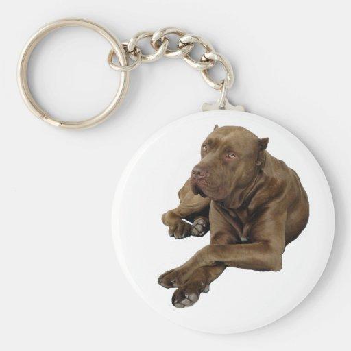 American Bandogge Mastiff Key Chain