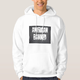 American Banned Black Diamond Hooded Swatshirt Hoodie