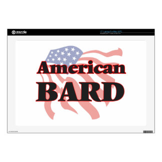 """American Bard Decal For 17"""" Laptop"""
