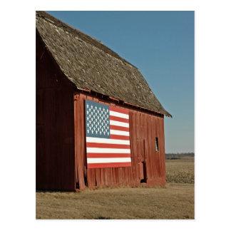 American Barn Postcard