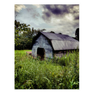 American Barn - Rural North Carolina Postcard