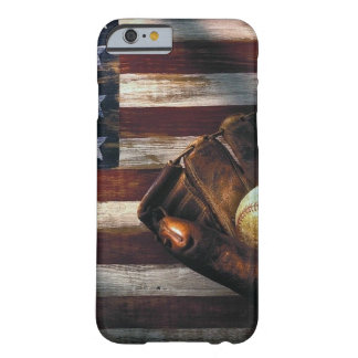 American Baseball Barely There iPhone 6 Case