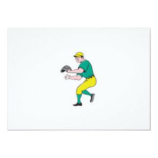 American Baseball Player OutFielder Throwing Ball Card