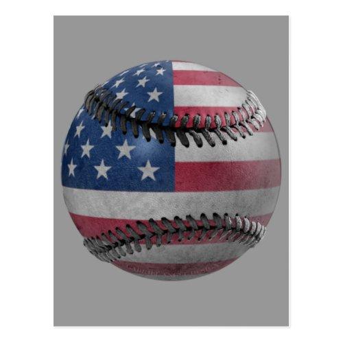 American Baseball Postcard
