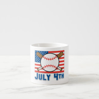 American Baseball Espresso Cup