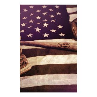 American Baseball Stationery