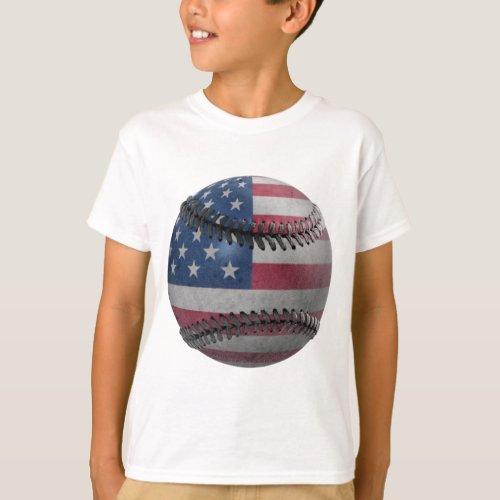 American Baseball T_Shirt