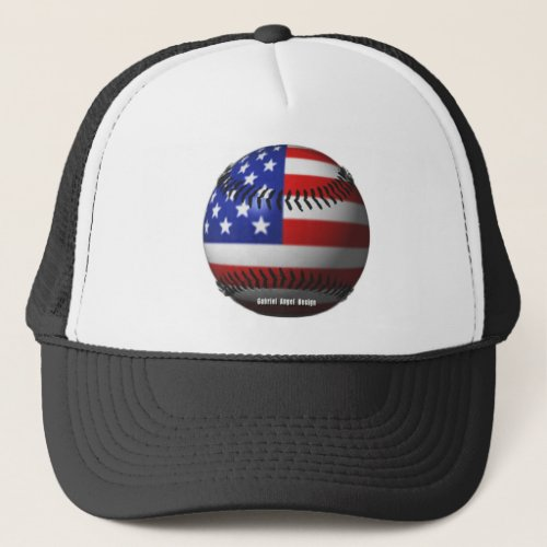 American Baseball Trucker Hat