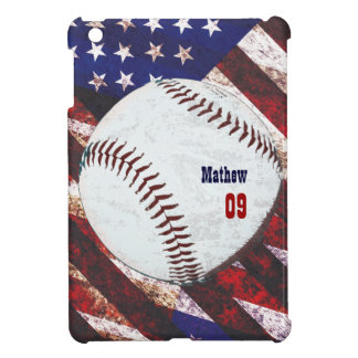 American baseball - vintage style iPad mini case