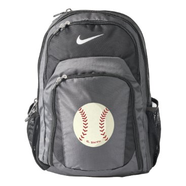 Beach Themed American Baseball. Your Official Nike Backpack