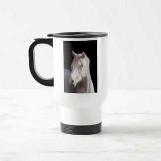 American Bashkir Curly left handed travel mug