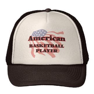 American Basketball Player Trucker Hat