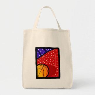American Basketball Team Tote Bags