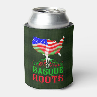American Basque Roots Custom Can Cooler
