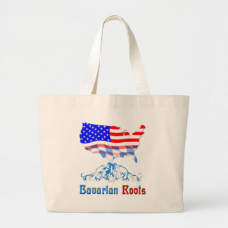 American Bavarian Roots Tote Bags