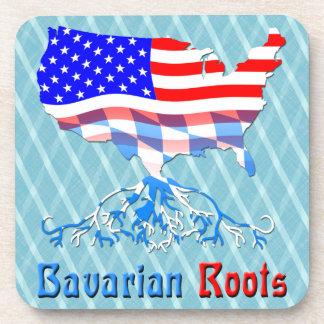 American Bavarian Roots Cork Coasters