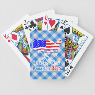 American Bavarian Roots Playing Cards