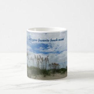 American Beach Sand Dunes Classic White Coffee Mug