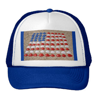 American Beach SeaShells Trucker Hat