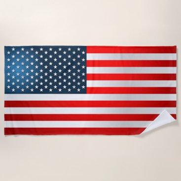 USA Themed American Beach Towel