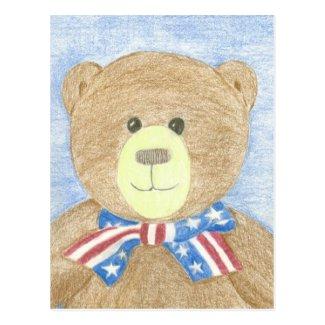 American Bear Postcard