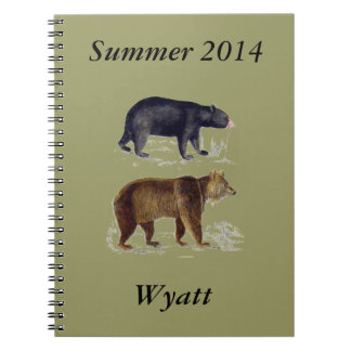 American Bears Note Book