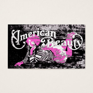 american beauty business card