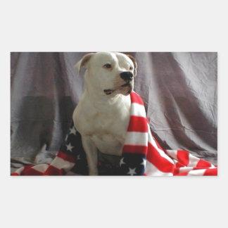 american-beauty-flag-dog-31000.jpg pegatina rectangular