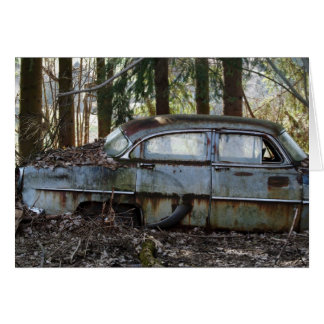 American Beauty in Decay Greeting Card