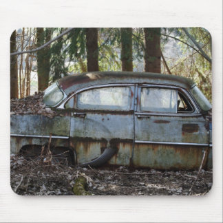 American Beauty in Decay Mouse Pad