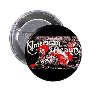 american beauty pinback button